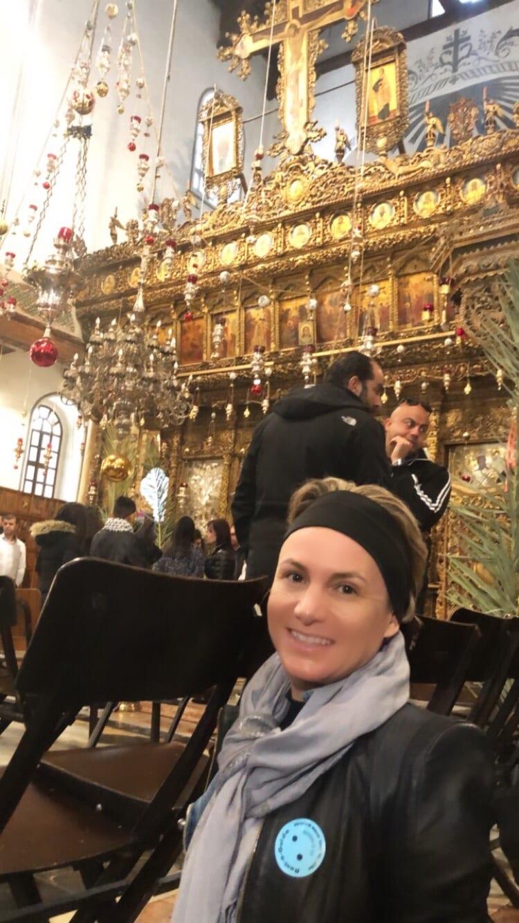 Altar Natividade e eu