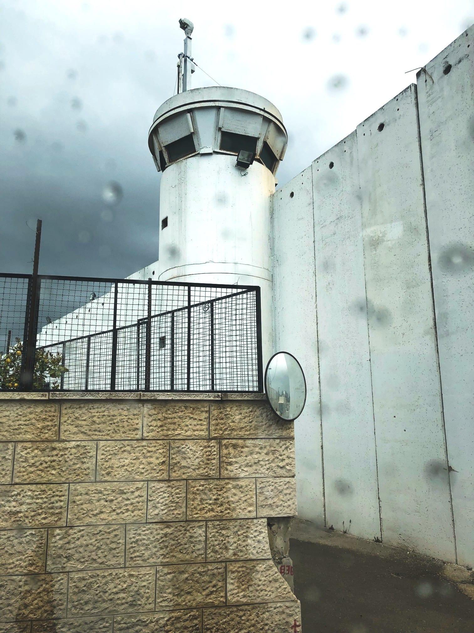 Fronteira Palestina